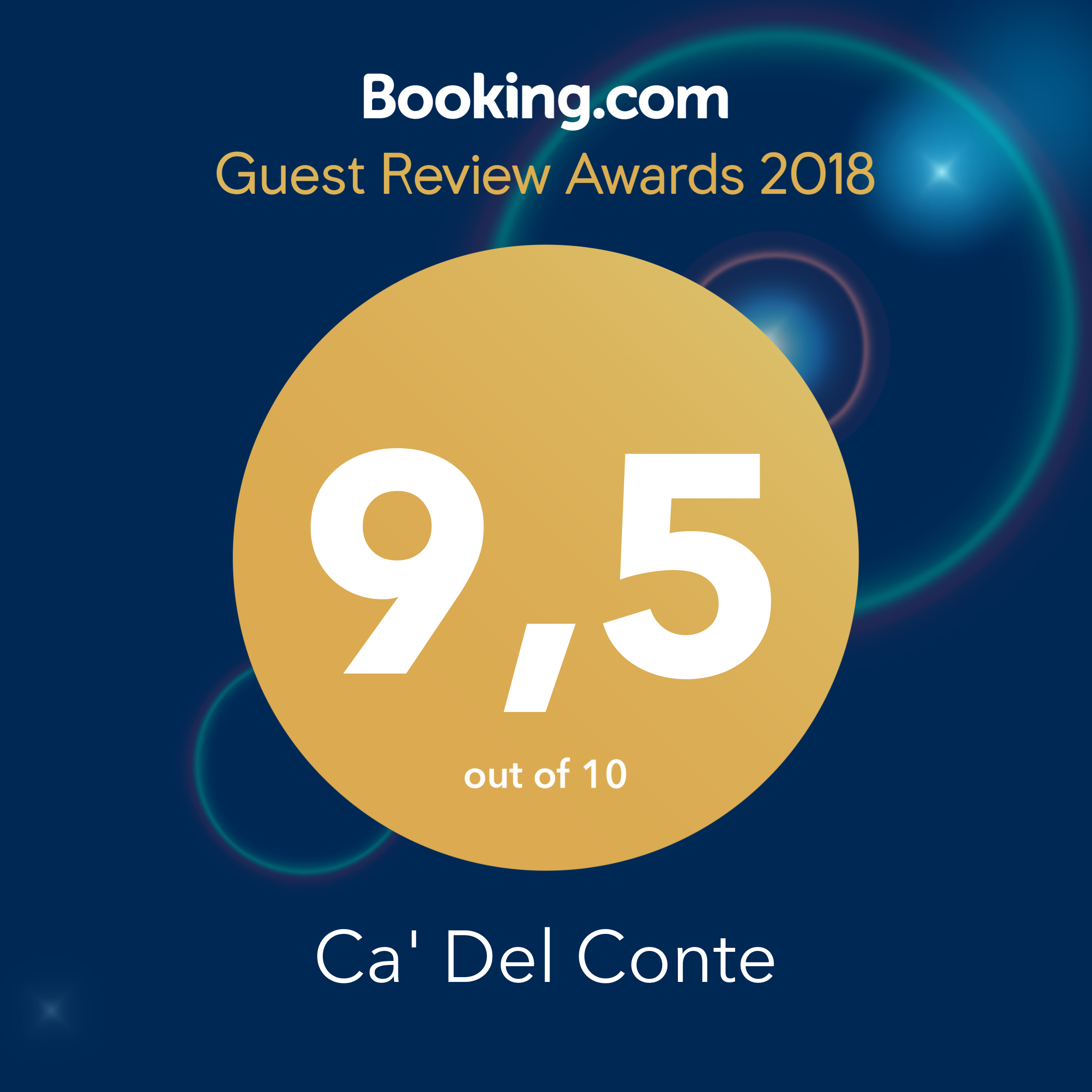 Certificato Booking Ca del Conte